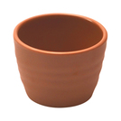 Terracotta Melamine Rippled Ramekin 7.5cl