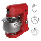 Chefmaster 4.5ltr Mixer Red