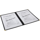 American Style Clear Menu Holder 2 Page