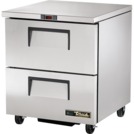 True TUC-27F-D-2-HC U/Counter 2 Drawer Freezer 184L