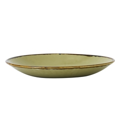 Harvest Green Deep Coupe Plate 25.5cm 10 inch