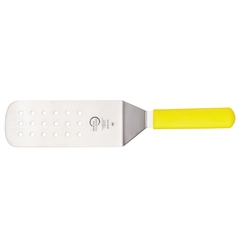 Mercer Culinary 8 x 3 inch Turner Perforated Yellow
