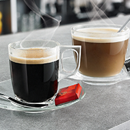 Tea & Coffee Glasses Image