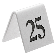 Table Numbers, Signs & Stands Category Image