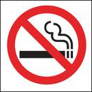 Safety Sign No Smoking Symbol