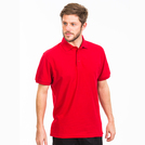 Brigade Polo Shirt Red