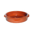 Terracotta Brown Dish 20cm