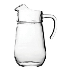 Bolero Glass Jug 2 1/8pt Ice Lipped