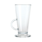 Polycarbonate Latte Glass 8oz