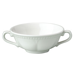Buckingham Elegant Soup Bowl White 38.5cl