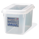 Container Polypropylene 1/4 150mm 4ltr
