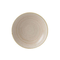 Stonecast Nutmeg Cream 9inch Coupe Bowl