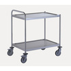 Clearing Trolley with 1 Handle - 2 Tray 800x530mm