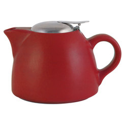 Red Barcelona Teapot 900ml 4 Cup