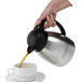 Unbreakable Inscribed Coffee Pot 1.2ltr S/S