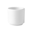 Monaco Egg Cup Footless White 4.75cm