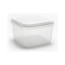 5ltr Squ Food Saver White Lid
