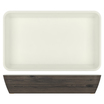New Haven Oak/White Melamine 1/1 DeepDish