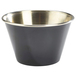 6oz Stainless Steel Ramekin Black