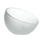 Bubble Dessert Dish 4 1/2oz Frosted White