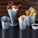Galvanised Fry Cup Angled 20oz