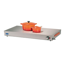 Heated Display Base Stainless Steel 600mm Long