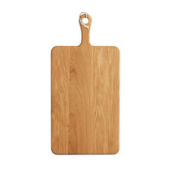 Large Rectangular Oak Paddle Board 53x26cm