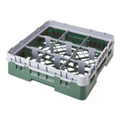Cambro Camrack Glass Rack 9 Compartments Grey