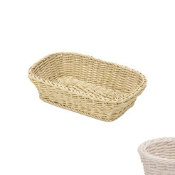 Rectangular Basket White
