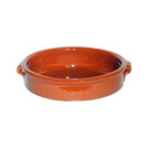 Emilio Terracotta Round Dish 23cm Brown