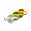 Dignity 2 Handle Pierced Spout Feeder Cup Green