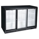 Blizzard BAR3SL Bottle Cooler 3 Sliding Drs -Black