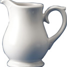 Whiteware Sandringham Jug 28cl