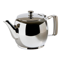 Signature Teapot S/Steel 34cl Heavy Gauge
