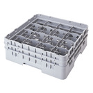 Cambro Camrack Glass Rack 16 Compartments Grey