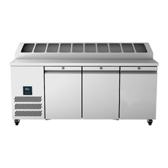 Williams HJC3SA Jade Counter Fridge 3Dr w. PanHolder