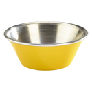 1.5oz Stainless Steel Ramekin Yellow