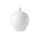 Alvo Sugar Bowl Covered White