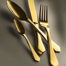 Ginevra Table Fork Gold