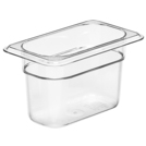 Gastronorm Container Poly 1/9 100mm Clear