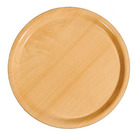 Laminated Birch Tray Round 32cm