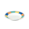 New Horizons Soup Plate Check Border 23cm