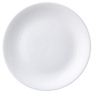 Superwhite Coupe Plate 18cm