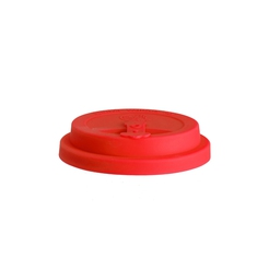 Eco To Go Lid For 9 oz Cup Red
