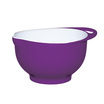 Colourworks Medium Purple Melamine Two Tone Mix Bowl