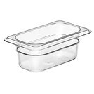 Gastronorm Container Poly 1/9 65mm Clear