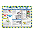 Food Prep & Storage Poster 42x59cm