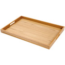Handled Butlers Tray Oakwood Oblong 60 x 40cm