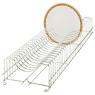 Plate Rack Stainless Steel Holds 19 Plates
