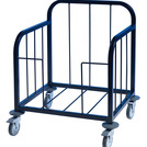 Tray Pick-Up Trolley -100 Tray - Black Frame